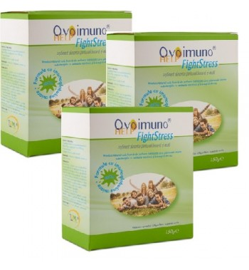 3 x OvoIMUNOhelp Fight Stress 150g